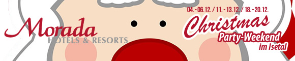 TIPP: Christmas-Party-Weekends im Isetal